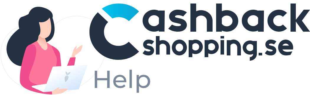 Cashbackshopping.se Hjälp & support-sida